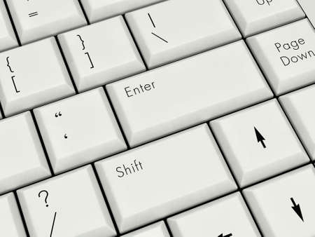 Laptop Keyboard With Enter Key