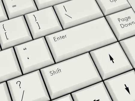 Laptop Keyboard With Enter Key