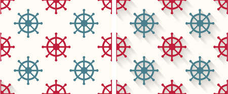 beach hut: Seamless abstract  pattern with  High Resolution JPG, EPS 8  included  Vector illustration