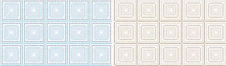vintage seamless pattern Backgrounds - Illustration  Illustration
