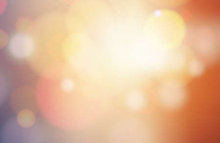 Abstract circular blurred bokeh background