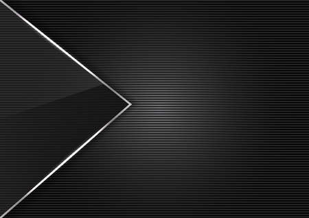 grating: Black Metal glass abstract background style