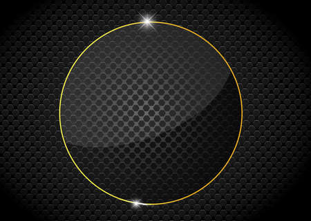 reticular: Black Metal glass abstract background style