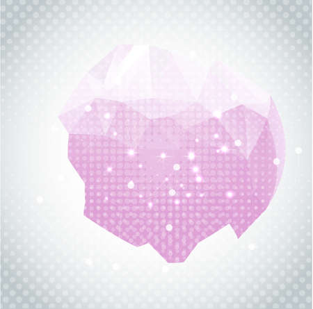 Abstract polygonal background  triangles  . Vector illustration