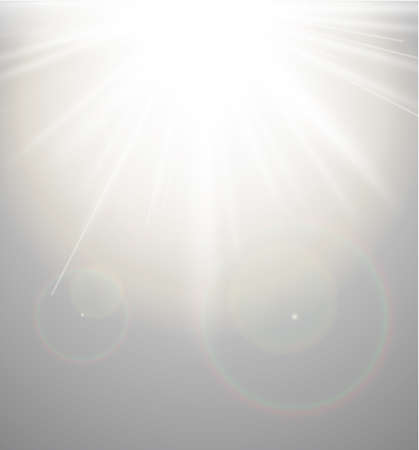 Abstract Background with a sun burst