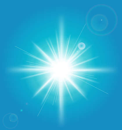 solar flare: Abstract Background with a sun burst