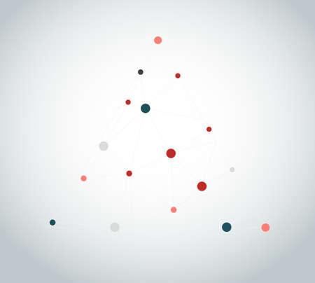 Bright splash particle background Illustration