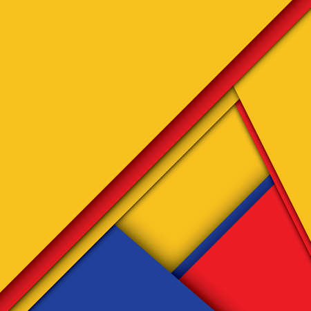 Modern abstract material design vector background