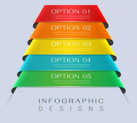 Information infographics design for presentation