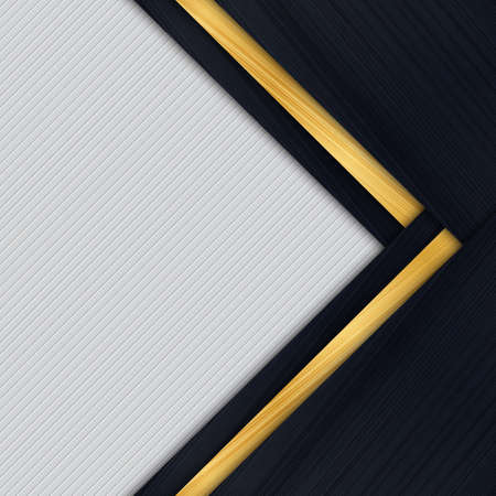 website background: Abstract background design modern with gold brushed metal texture. vector illustration Illustration