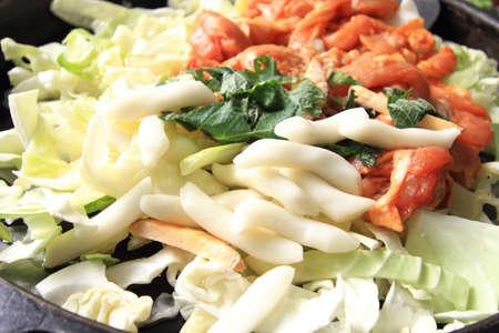 palustre:  korea food Stock Photo