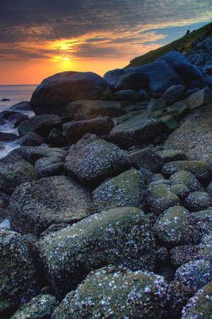 rock beach photo