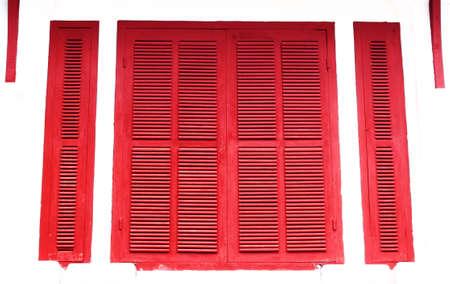 red old door photo