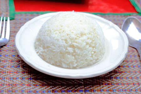 Thai rice photo