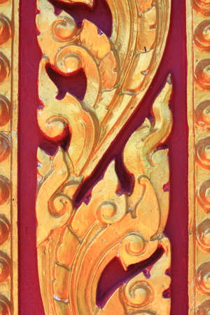 thai motifs: Thailand motifs art of thai Stock Photo