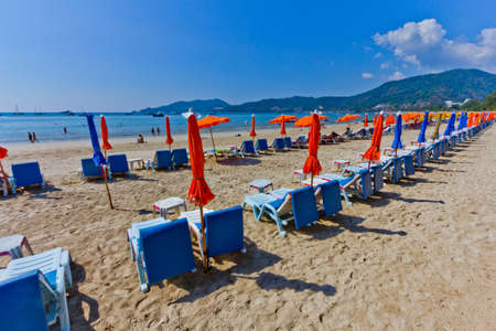 Patong paradise beach phuket ,Thailand photo
