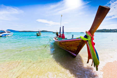 long tailed boat: Long tailed boat in Thailand,PHUKET