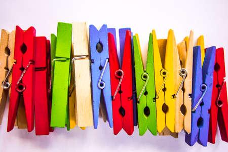 wooden color clip