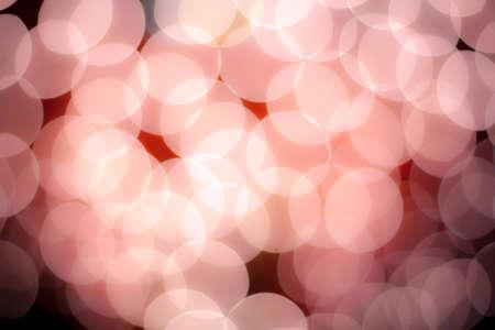 blurred circle bokeh light  pastel pink