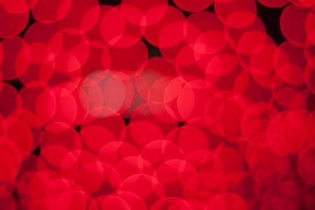 blurred circle bokeh light  deep red roses valentine