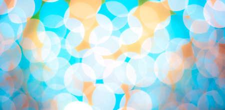 blurred circle bokeh light  pastel