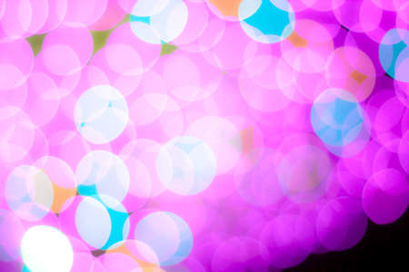blurred circle bokeh light pink pastel Фото со стока
