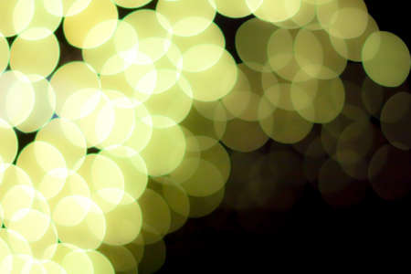 blurred circle bokeh light ligth green