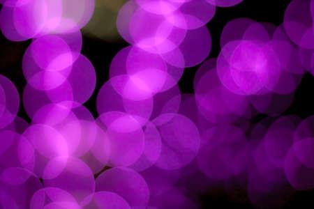 blurred circle bokeh light purple