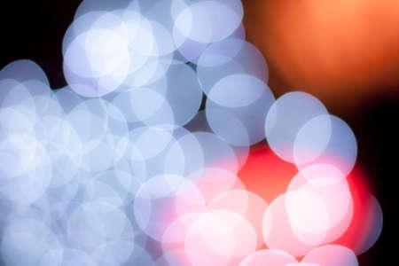 blurred circle bokeh light red white Фото со стока