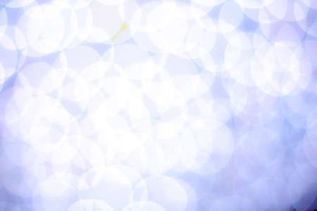 blurred circle bokeh light white
