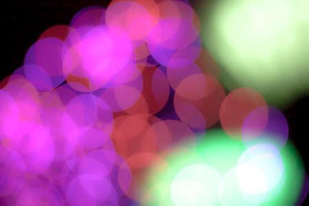 blurred circle bokeh light pink