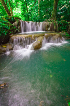 Waterfall in the national park, Phuket Thailand