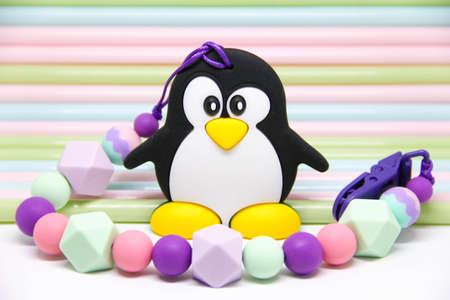 Teether Penguin