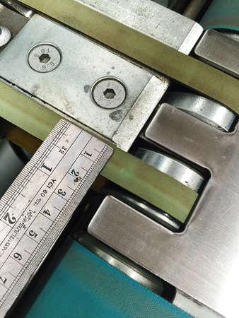 industrial: Measurement in factory