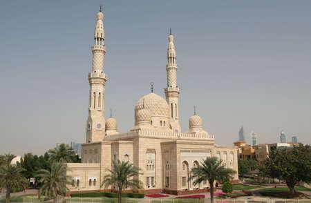 The beautiful Jumeirah Mosque in Dubai Stock Photo - 2746540