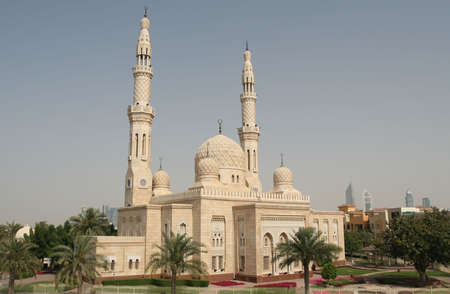 The beautiful Jumeirah Mosque in Dubai