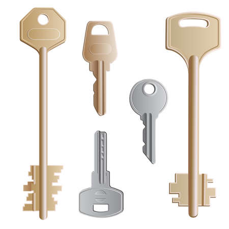 dwell: A set of realistic keys of different forms