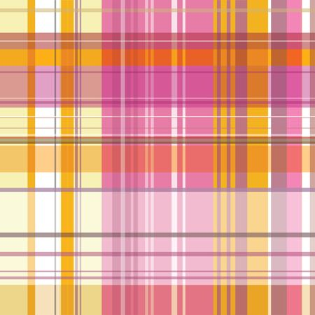 A seamless square background with checked textile pattern photo