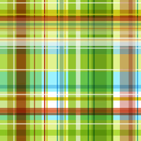 A seamless checked image with green and yellow Vector