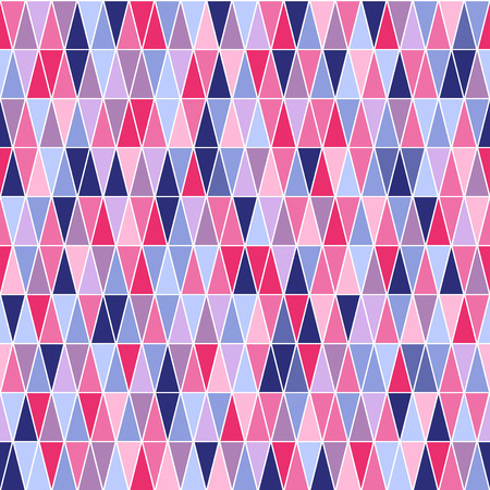 A square seamless pattern with triangles Stock Vector - 23268933