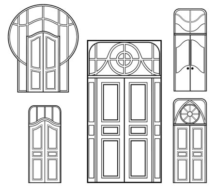 dwell: A set of retro doors shapes