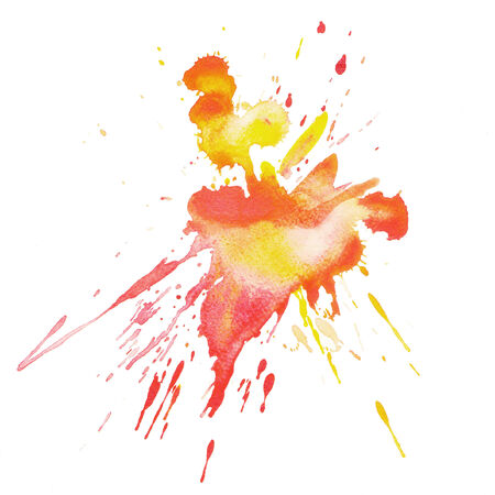 A water color grungy splash photo