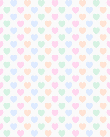 A seamless valentine heart pattern Vector