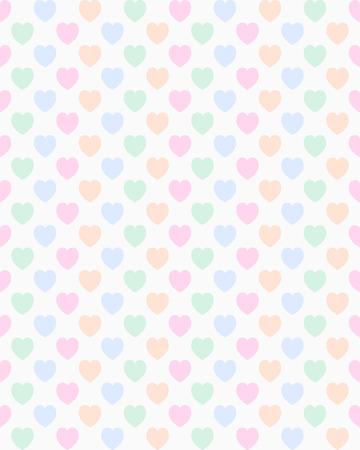 A seamless valentine heart pattern Vector