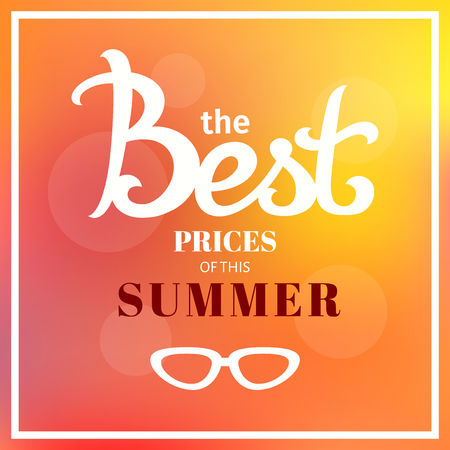 Summer sale blur background. Vector illustration template. banners. Wallpaper. flyers, invitation, posters, brochure, voucher discount. Illustration