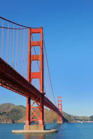 Golden Gate Bridge in San Francisco on a sunny afternoon photo