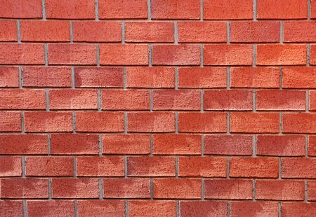 Red brick wall with sunlight. Stock Photo - 4469951