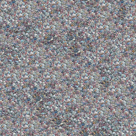 Cement Gravel Seamless Composable Pattern - this image can be composed like tiles endlessly without visible lines between parts Stock Photo