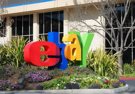 San Jose, California, March 28, 2009 - eBay Inc. Company Logo In Front of the Whitman Campus on a sunny day. Stock Photo - 6884708