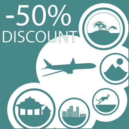 flight infographics vector, traveling infographics vector, travel infographics, discount